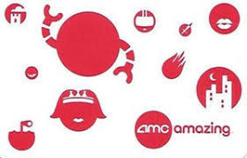 $10 AMC Theatres GIFT CARD