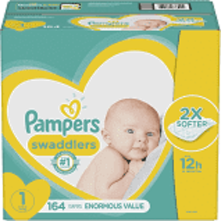 Pampers Little Swaddlers Size 1 Diapers