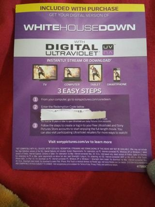 DIGITAL COPY WHITE HOUSE DOWN