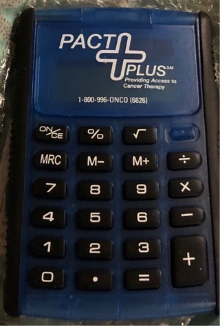 BNIB Dual Power Calculator With Flip Top Cover. Great For Office / Classes.