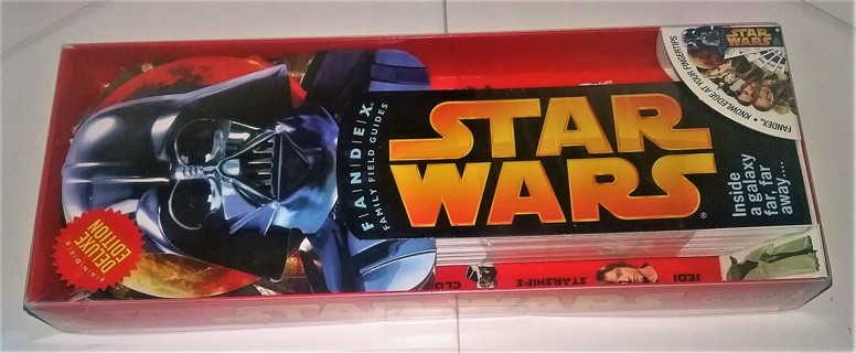 "2008 STAR WARS Fandex - 75 cards (10 1/4"" X 3 3/4"") of characters, ships, droids, etc. - sealed/NIP"