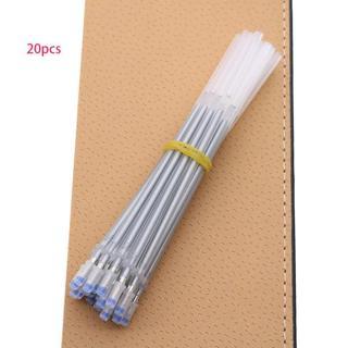 20pcs Silver Flash Gel Pen Color Flash Pen Cart Drawing Flash Refill 0.8mm Child Student Stationer