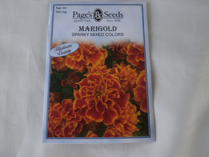 MARIGOLD Mixed color seeds