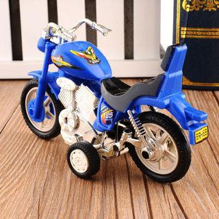 Plastic Motorcycle Toy Motorbike Model Sport Bike Boys & Girls Present Random