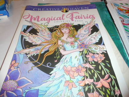 Adult Coloring Book - Fairy's