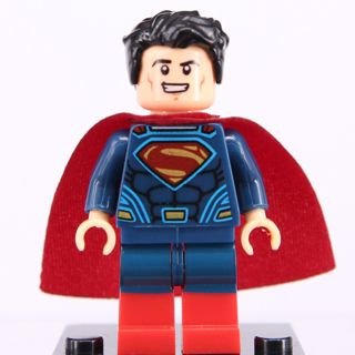 New Super Man Minifigure Building Toy Custom Lego