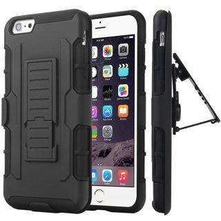 NEW APPLE iPHONE 7 PLUS Phone Case Holster & Clip Kick Stand Scratch-Resistant Shock Absorbent