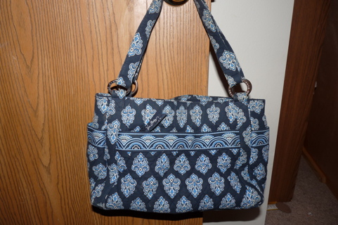 Vera Bradley Retired Calypso Tote Handbag Purse