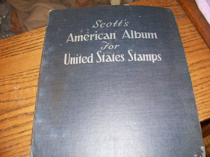 1958 Scott's American Album for U.S. Stamps