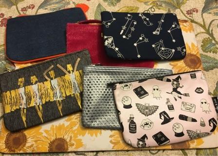 6 Ipsy Glam Bag Makeup Bags!