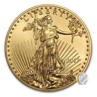2017 Gem B.U. $10. 1/4th. Oz. Fine Gold Eagle Bullion Coin!