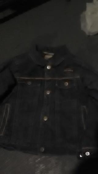 boys Harley Davidson jacket size 4 t