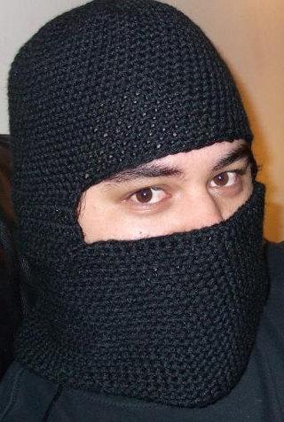 Free Crochet Balaclava Pattern Pdf Riding Hood Ski Mask Ninja