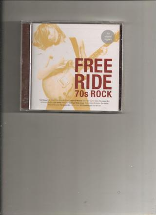 NEW FREE RIDE 70s ROCK MUSIC CD