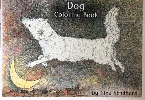 DOG COLORING BOOK - BY NINA STRUTHERS