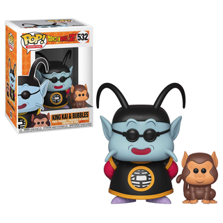 Funko Pop! & Buddy: Dragon Ball Z - King Kai & Bubbles Toy