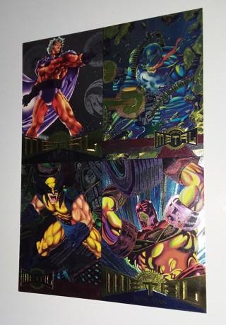Marvel Comics METAL 1995 Trading Cards Promo Card 5x7