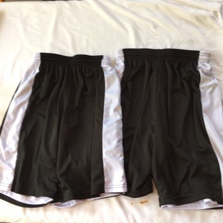 2 Pair Girls Athletic Reversible Basketball Shorts Size Youth Small