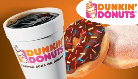 $5.00 Dunkin Donut Card