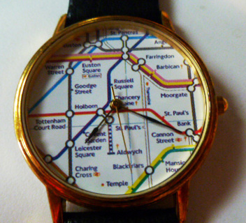 Free: London Underground subway map watch Leather - Watches - Listia ...