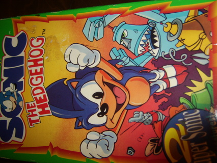 Free Adventures Of Sonic The Hedgehog Vhs Good Shape Super Special Sonic Search Smash Squad Other Dvds Movies Listia Com Auctions For Free Stuff
