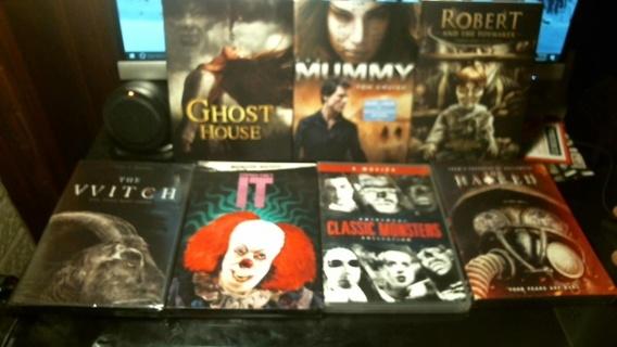 """Halloween Horror DVD Movie Madness"""