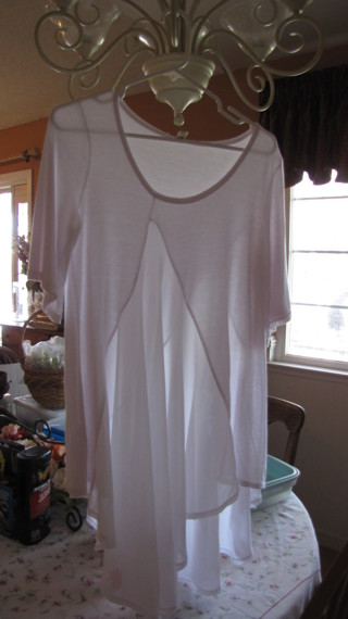 White Stylish top - XL