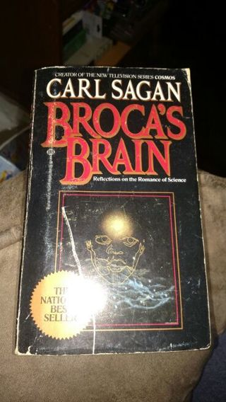 Broca's Brain by Carl Sagan (paperback)