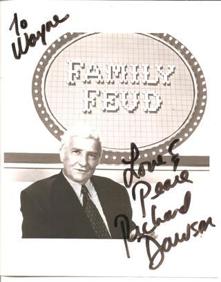 Actor TV Host Richard Dawson Autograph 8x10