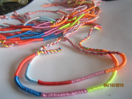PAIR of FRIENDSHIP BRACELETS (2)
