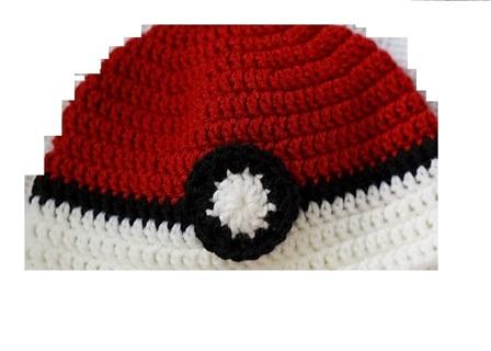 Free Pokemon Hat Crochet Pattern Teenadult Knitting Listia