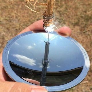 Outdoor Camping Hiking Survival Solar Fire Spark Starter Emergency Tool Gear