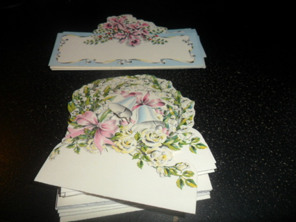 29 OLD PLACE CARDS