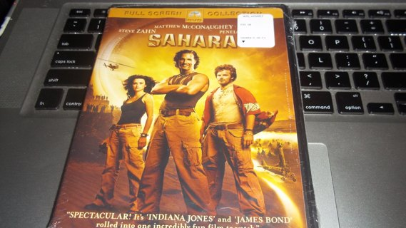 BRAND NEW IN PACKAGE, SAHARA DVD