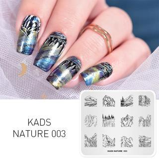 KADS 34 Design Flower Animal jewelry nail art stamp stamping Image Nail Art Decorations Stamp DIY