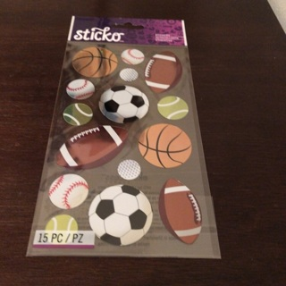 Sticko sports stickers