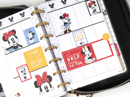 25+ Minnie Mouse Happy Planner Stickers