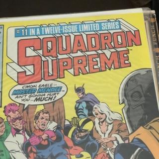 Marvel Squadron Supreme comic book