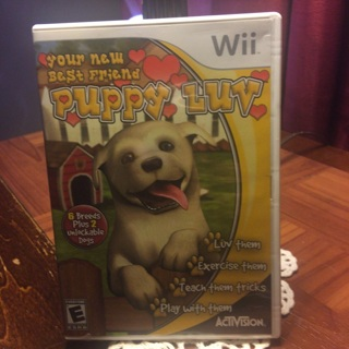 Wii Puppy Luv Game
