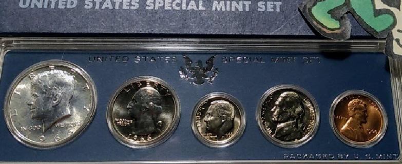 1966 U.S Special Mint Set in OGP