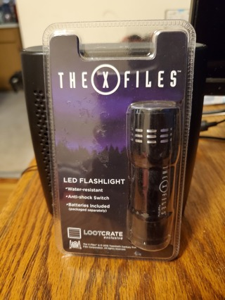 X-Files Flashlight Brand New Factory Sealed
