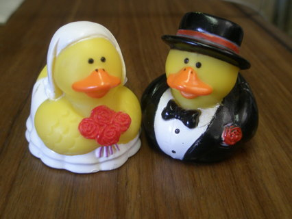 Wedding Rubber Duckies: Cute, Collectible Couple