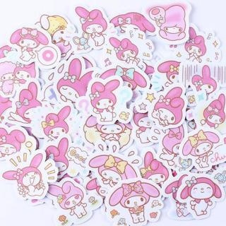 40pcs Creative cute  Kawai self-made my melody scrapbooking stickers/decorative sticker /DIY craft