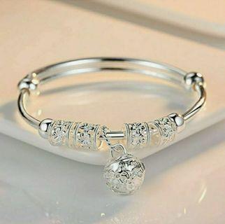 Fashion Women Ethnic Style Jewelry Silver Plated Cuff Bracelet Charm Bangle