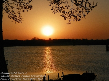 "Comanche Lake Sunrise 8"" x 10"" Glossy Original Signed and Numbered Photograph"