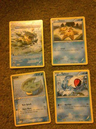 Water type Pokemon lot