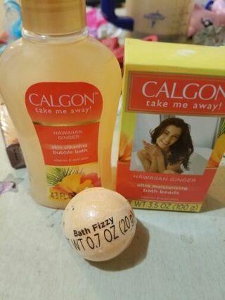 Calgon take me away bath