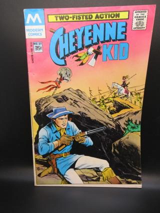 CHEYENNE KID NO.89