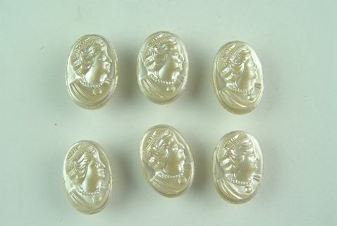 antique glass cameo buttons mother of pearl