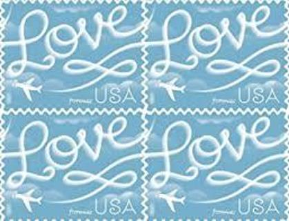 2 FOREVER POSTAGE STAMPS